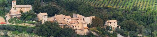 Il castello medioevale di Castelbuono - Bevagna Perugia Umbria